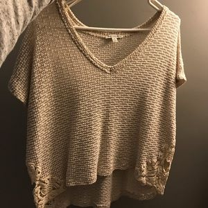 American Eagle short sleeve knit shirt